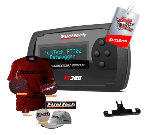 Ft300 Fueltech Sem Chicote+mega Brinde+camiseta Bordo Gel Bb
