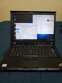 Notebook Lenovo T400 Thinkpad 4gb Ram 500hdd