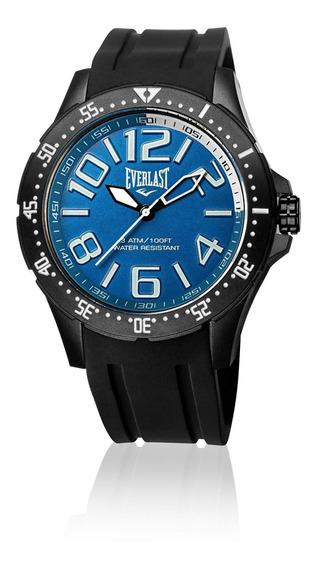 Relógio Masculino Everlast Esporte E674 49mm Silicone Preto