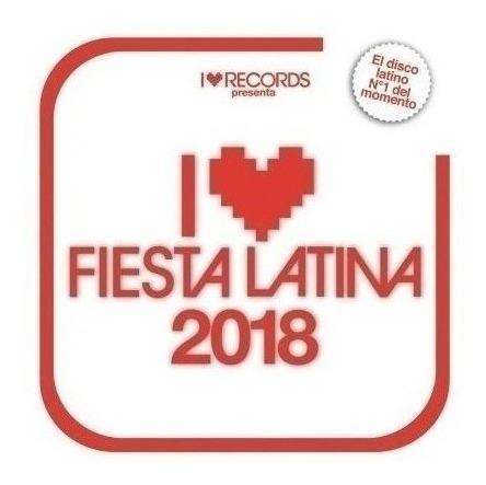 Imagen 1 de 3 de Varios Interpretes - I Love Fiesta Latina 2018  Cd#