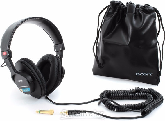 Headphone Sony Mdr - 7506 Original Akg Senheiser Fone