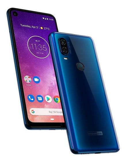 Smartphone Motorola Motorolaone Vision Azul Safira