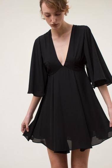 Vestido Etna Negro Las Pepas