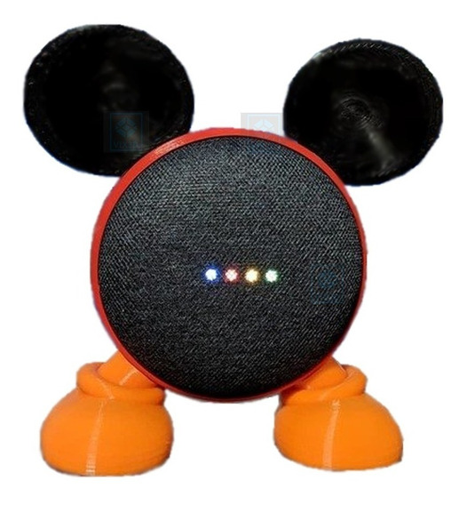 Suporte Case De Google Home Mini Mickey Mouse Design