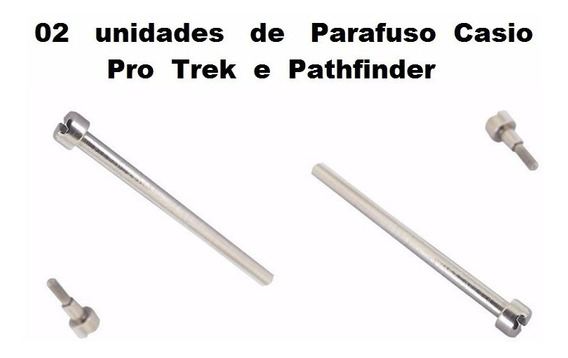 Parafuso Pulseira Casio Prg-40 Pag-40 Prg-240 Paw-1500