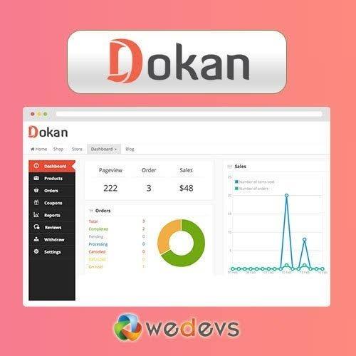 Dokan Pro Business - Multi Vendor Marketplace Wordpress
