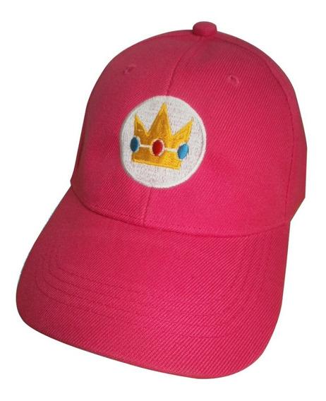 Gorras Princesa Peach De Mario Bros Para Niñas