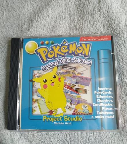 Pokémon Project Studio Azul (blue)  | Mega Raro Colecionador