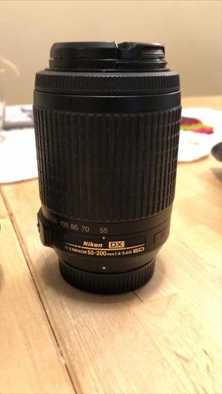 Lente Nikon - 55 200 Mm