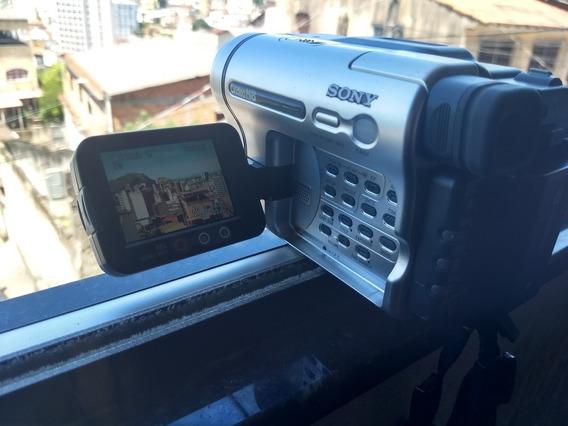 Câmera Filmadora Hi8 Video8 8mm Sony Handycam Trv138