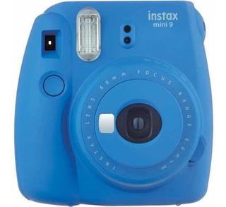 Paquete. Cámara Instantánea Fujifilm Instax Mini 9 + Funda