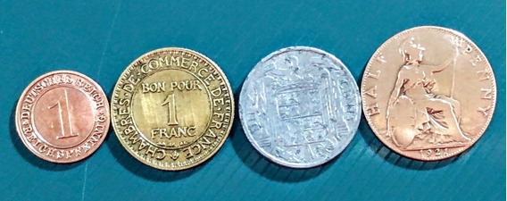 Monedas De Europa 6 Inglaterra Y Otros Países