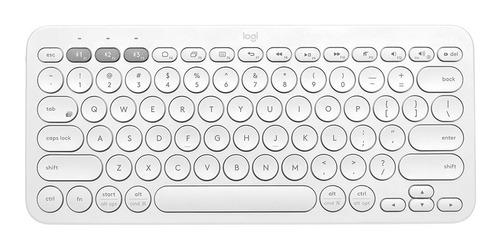 Imagen 1 de 10 de Teclado Bluetooth Logitech K380 Multidispositivo P/tv Tablet