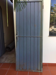 Porta De Ferro 2,10x80 Cm