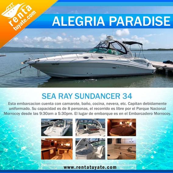 Alquiler Lanchas Y Yates Sea Ray Sundancer 34
