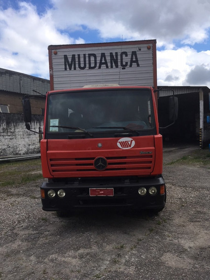 Mercedes Mb 1720 6x2 2002 Bau 9mts Vw/volvo/ford/iveco/scani