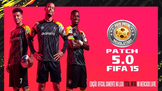 Patch Fifa Fatal Revolution! (versão 5.0 - 2020)