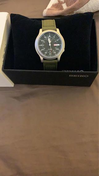 Reloj Seiko Nsk805 Automático Verde Envío Gratis