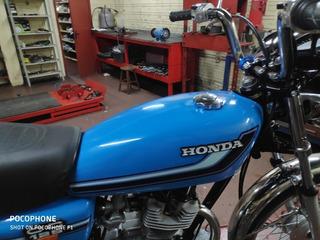Honda Cg 125 Bolinha 1981