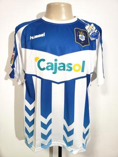 Camisa Futebol Recreatio Huelva Espanha 2012 Home Hummel Gg