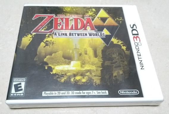 Zelda A Link Between Worlds Nintendo 3ds Black Label Lacrado