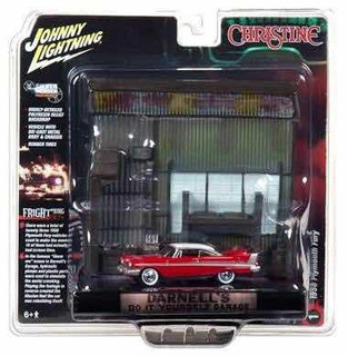 Johnny Lighting Christine Diorama
