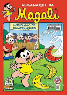 Revista Hq Gibi - Almanaque Da Magali - Turma Da Mônica N°60
