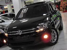 Volkswagen Tiguan 2.0 Preto 2013 Tsi Teto Solar
