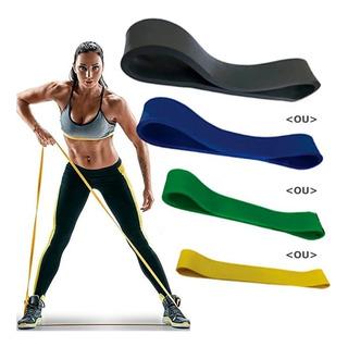 Faixa Elastica Rubber Super Band Pilates Fisioterapia Tensão