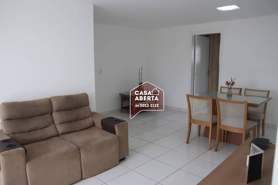 Apartamento Com 3 Dormitórios À Venda, 108 M² Por R$ 480.000,00 - Lagoa Nova - Natal/rn - Ap0001