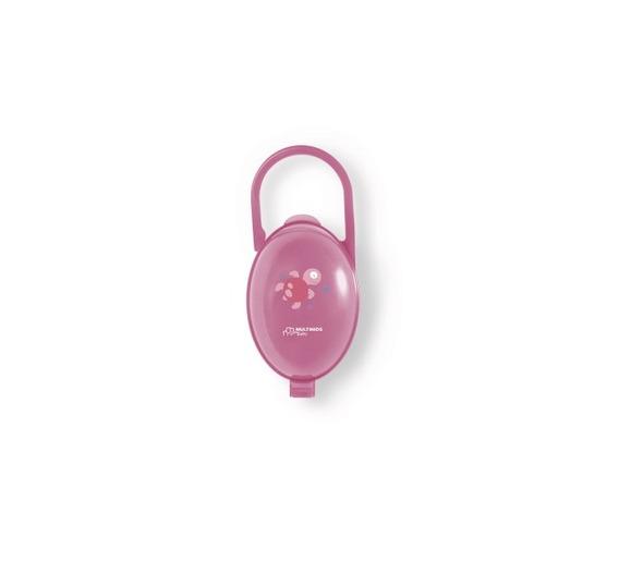 Porta Chupeta Rosa - Multikids -bb142