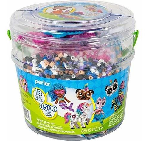 Perler Beads 8505pc Kit De Cuentas De Diseño De Criaturas M