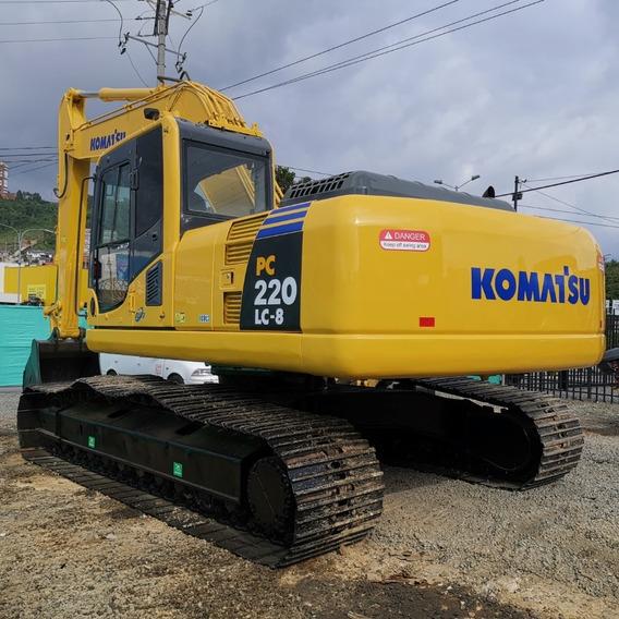 Excavadora Komatsu Pc220-8 Lc Año 2007 Repotenciada!!!