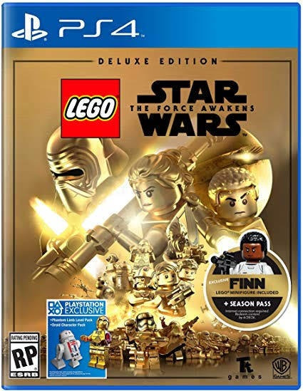 Lego Star Wars Ps4- Lego Star Wars Deluxe- Envio Imediato