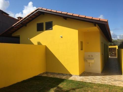 Casa Perto Da Praia Para Financiamento Bancário Itanhaém Sp