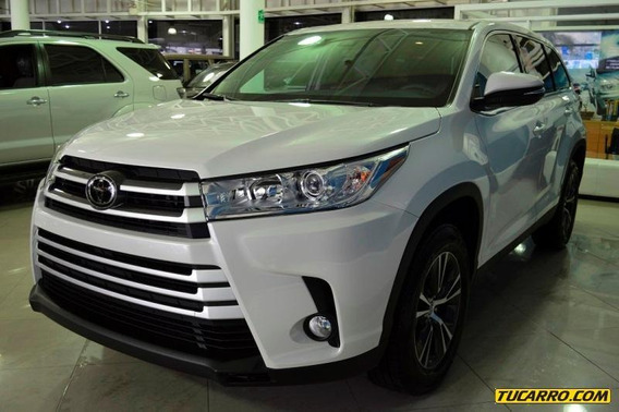 Toyota Highlander Le-multimarca