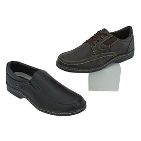 Zapatos Casuales Al 2x1 Para Caballero 017550 Tp19