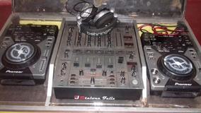 Cdj 400 Mixer Djx 700 + Case