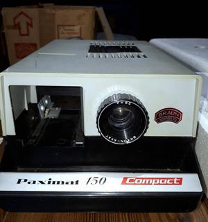 Proyector Paximat 150 Compact De Braun Con Accesorios