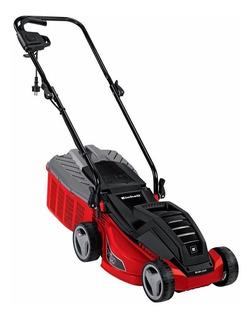 Cortadora de pasto eléctrica Einhell RG-EM 1233 con bolsa recolectora 1250W roja y negra 220V