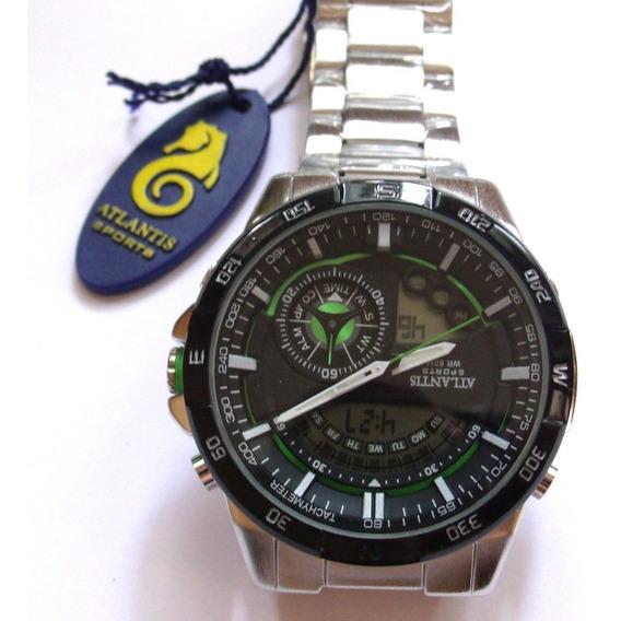 Relógio Masculino Original, Atlantis A - 3303,lote Com 4...