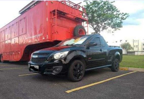 Chevrolet Montana 1.4 Sport Econoflex 2p 2011 Preta 3° Dono