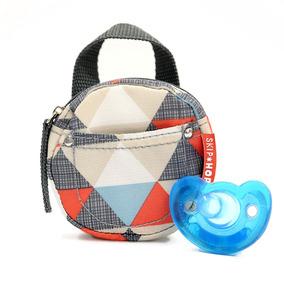 Porta Chupeta Skip Hop Bolsa Antimicrobial Alça Viagem Bebê
