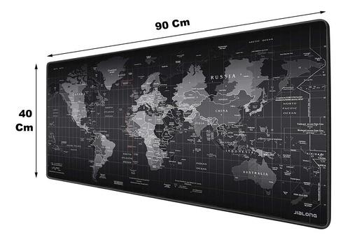 Imagen 1 de 10 de Mouse Pad Mapa 400 X 900 X 4 Mm Tapete Texturizado Pc Para Escritorio Mesa Gamer Juegos Gran Agarre Anti Derrape