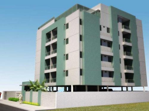 Apartamento À Venda, 102 M² Por R$ 450.000,00 - Bessa - João Pessoa/pb - Ap0220