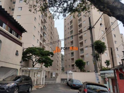 Apartamento Com 2 Dormitórios À Venda, 50 M² Por R$ 340.000,00 - Vila Prudente - São Paulo/sp - Ap0244