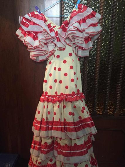 Vestido De Flamenco/gitana Español