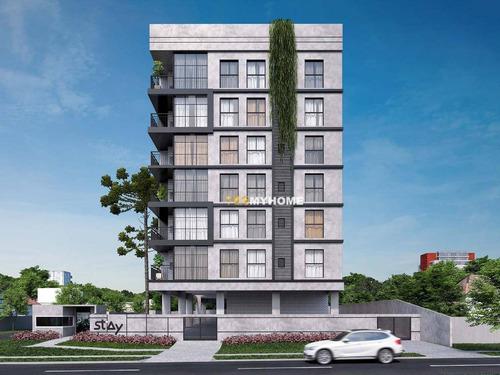 Apartamento Com 1 Dormitório À Venda, 35 M² Por R$ 221.900,00 - Tingui - Curitiba/pr - Ap3736