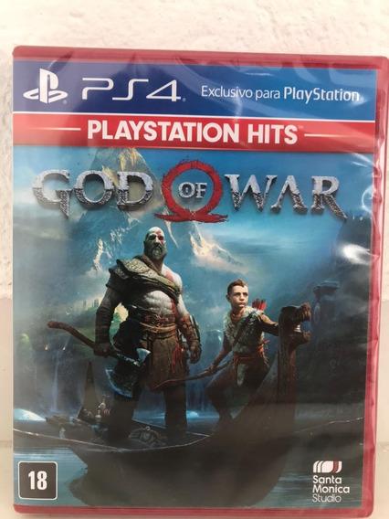 God Of War Ps4-hits Mídia Física Lacrado