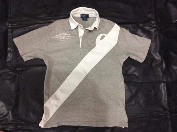 Playera Polo Ralph Laurent Talla 8 Años N-lacoste Hilfiger